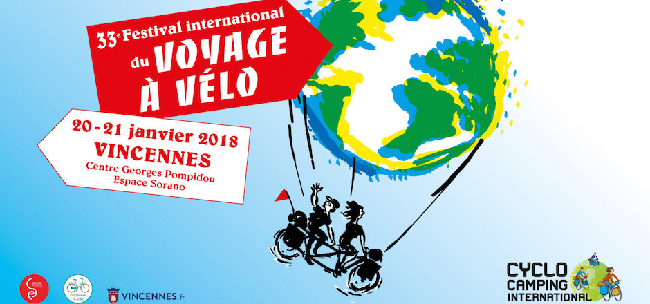 Festival international du voyage à vélo 2018