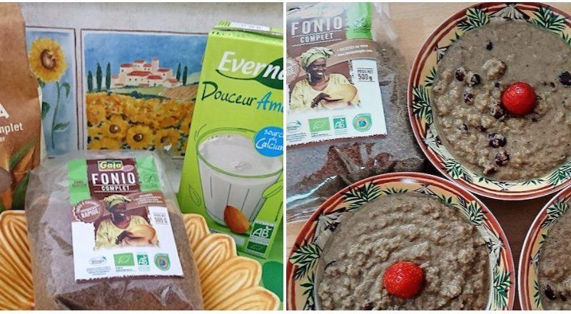 Gouter vegan et sans gluten avec fonio