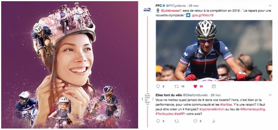 médiatiser le cyclisme féminin