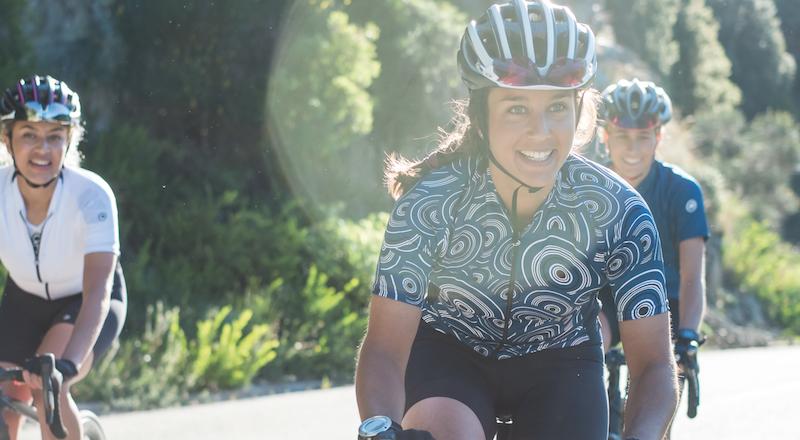 cyclistes de longues distances