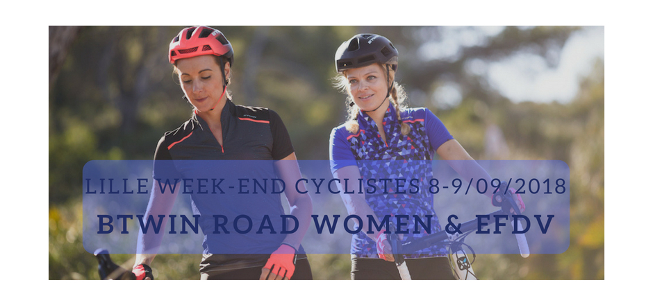 weekend btwin road women lille