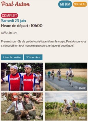 Anjou Vélo Vintage 2018