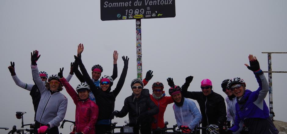 Stage Mont Ventoux Paiani avec Elles font du vélo