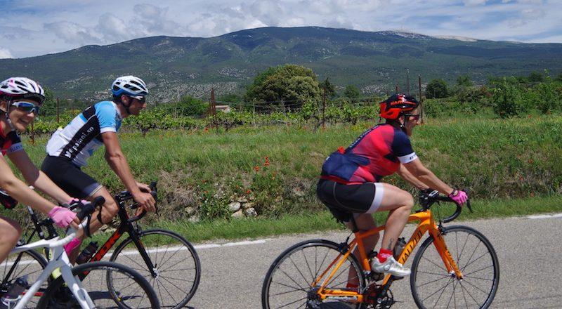Stage féminin Mont Ventoux