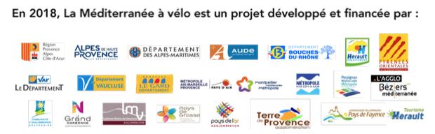 sponsors de la méditerranée à vélo