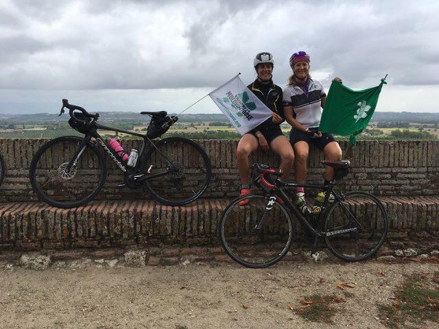 Défi à vélo pour Vaincre la Muco 2018 par Marion et Stéphanie