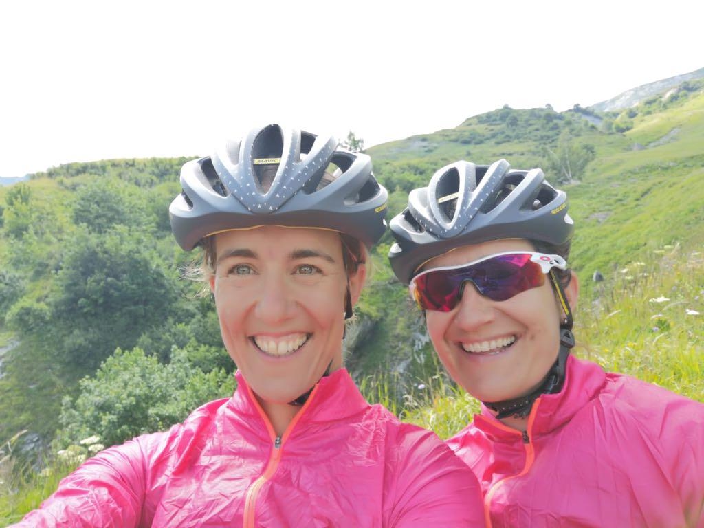 Donnons des Elles au Vélo J-1 Karine Muriel