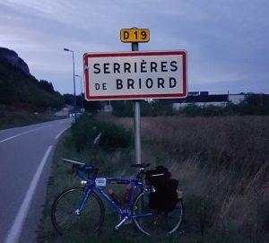 diagonale Dunkerque Menton pancarte