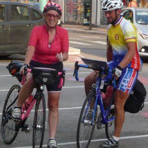 diagonale de france à Deux à vélo
