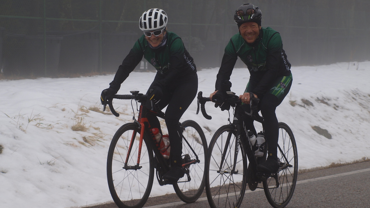 Prise de poids l'hiver Fleur Skrivan et Alain