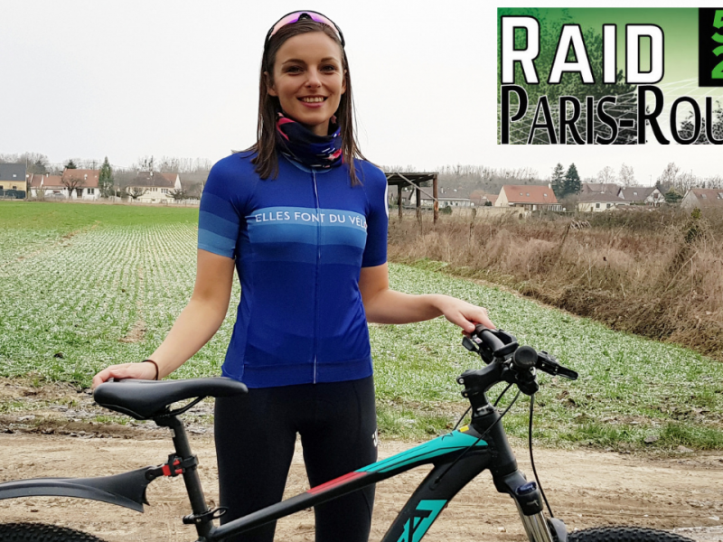 Raid VTT Paris Roubaix Julie Dremière
