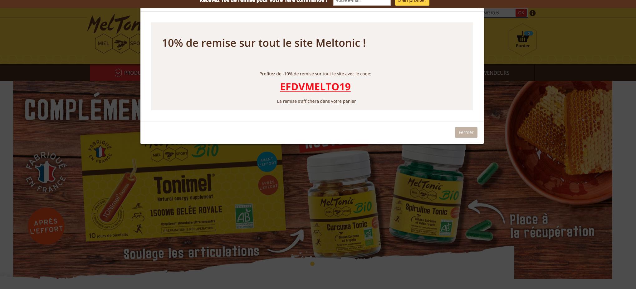 code promo Meltonic