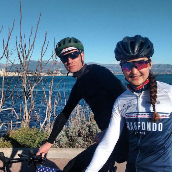 relfexion cycliste Instagram