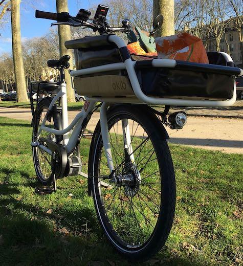 vélo cargo oklö utiléö