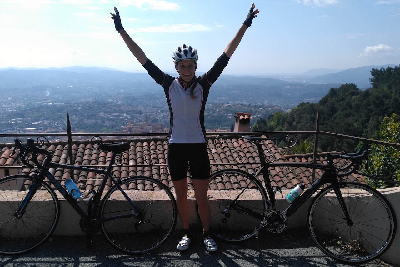 Coralie Martin vélo de route