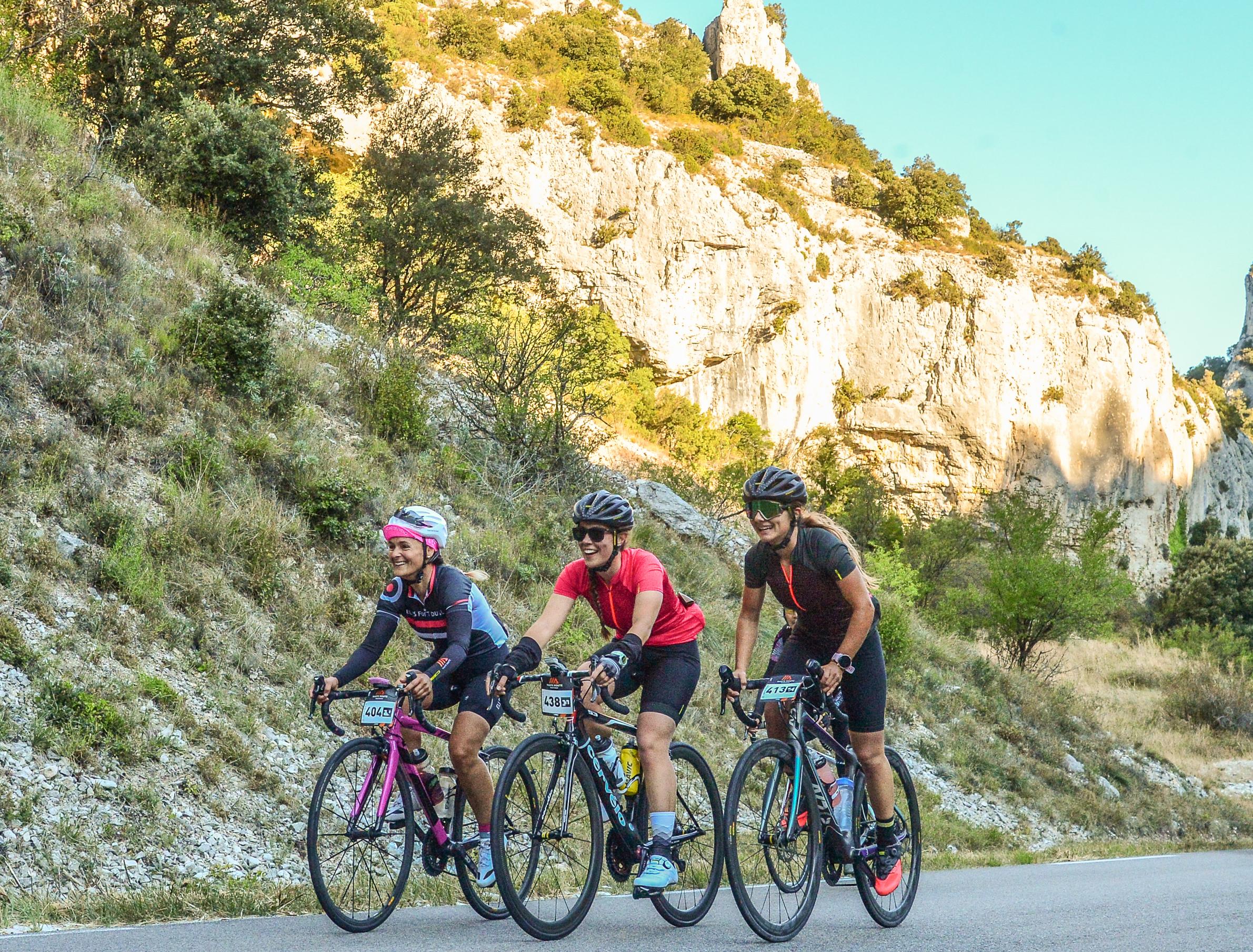 Haute Route Mont Ventoux Catherine Fittipaldi Soleil