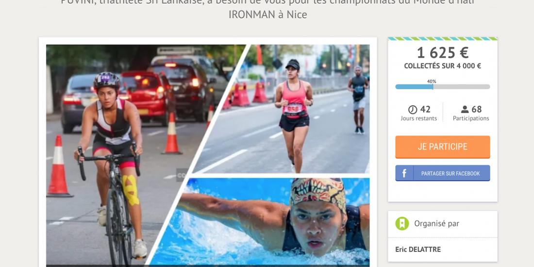 athlète Puvini Sri Lanka