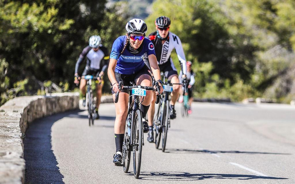Maillot femme cycliste ellesfontduvelo