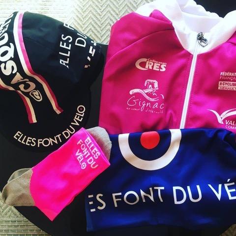 premiere cyclosportive heraultaise casquette maillot