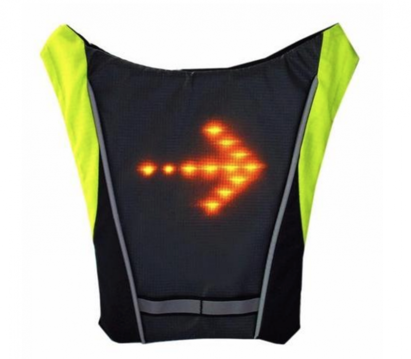 test du gilet smartled