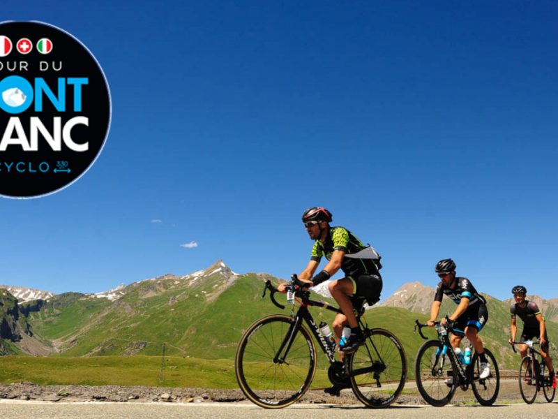 Cyclosportive Tour du mont blanc