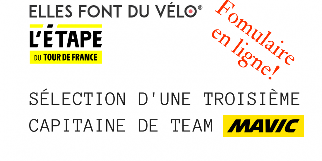 Capitaine de TEAM @ellesfontduvelo MAVIC
