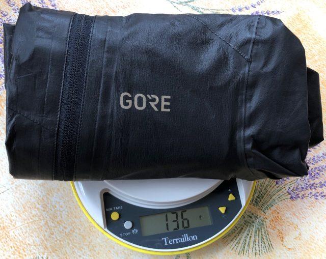 Veste GORE-TEX C7 SHAKEDRY poids