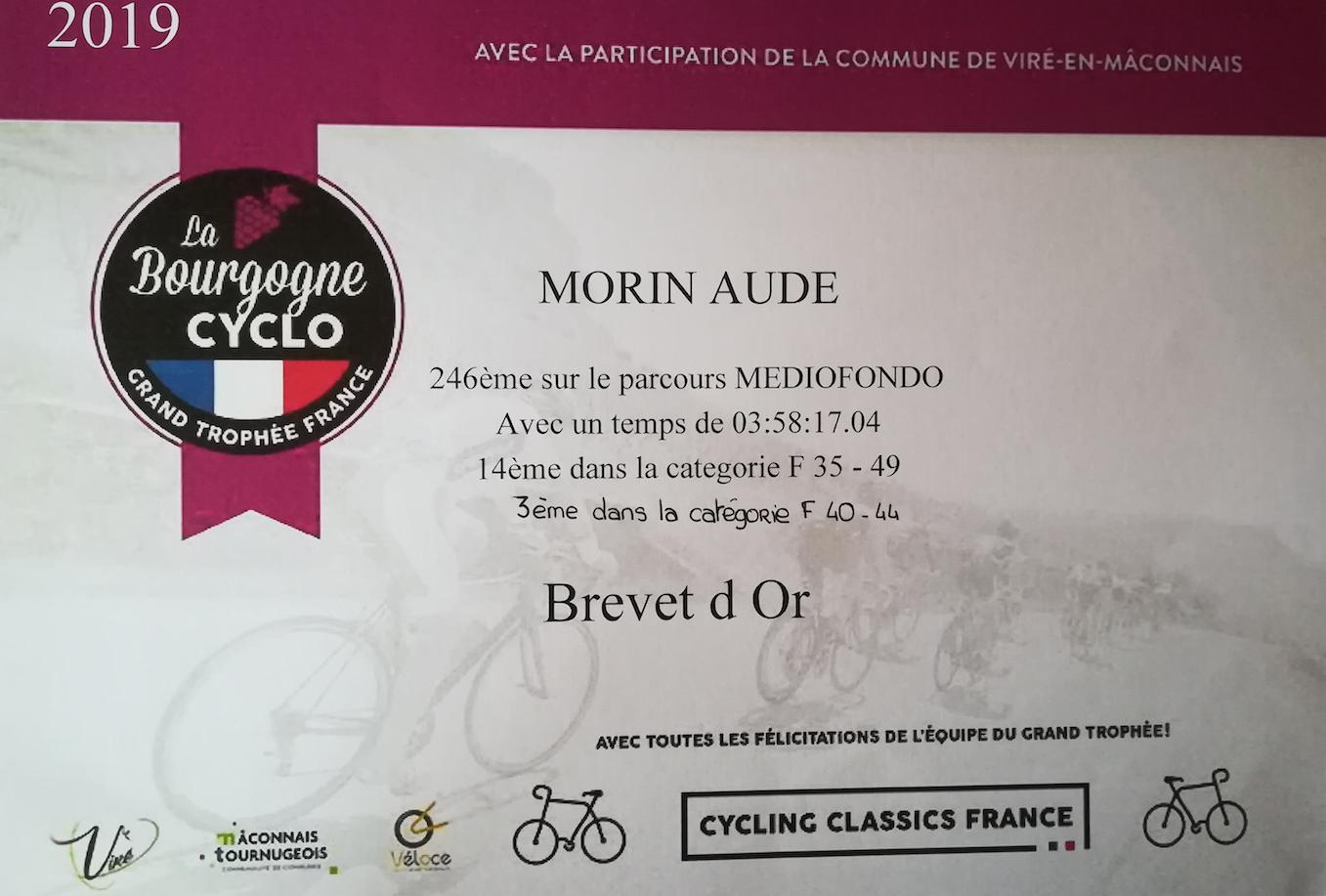 bourgogne cyclo brevet