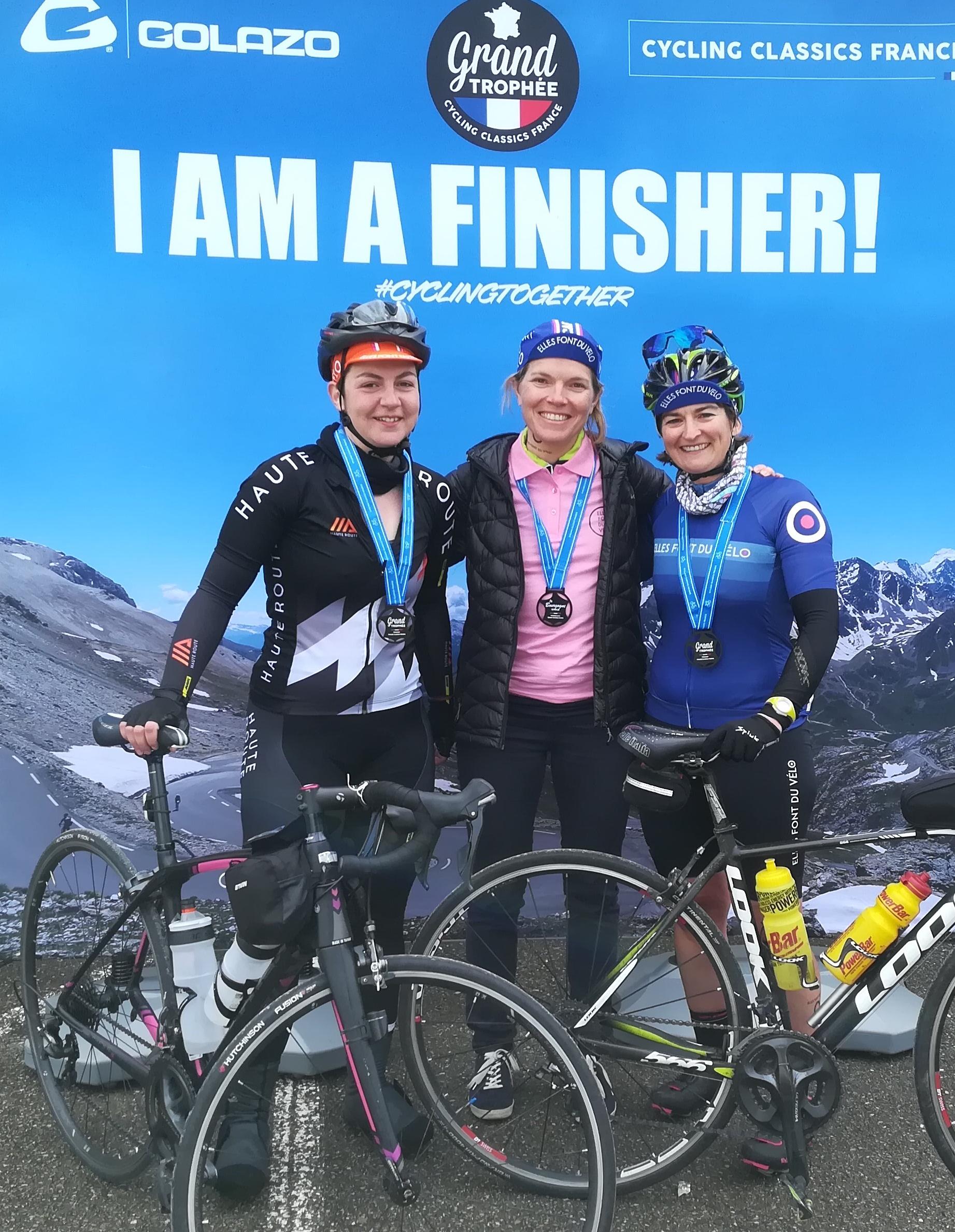 Bourgogne cyclo finisher