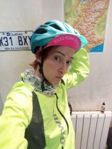 accident à vélo, tenter de se rendre visible!