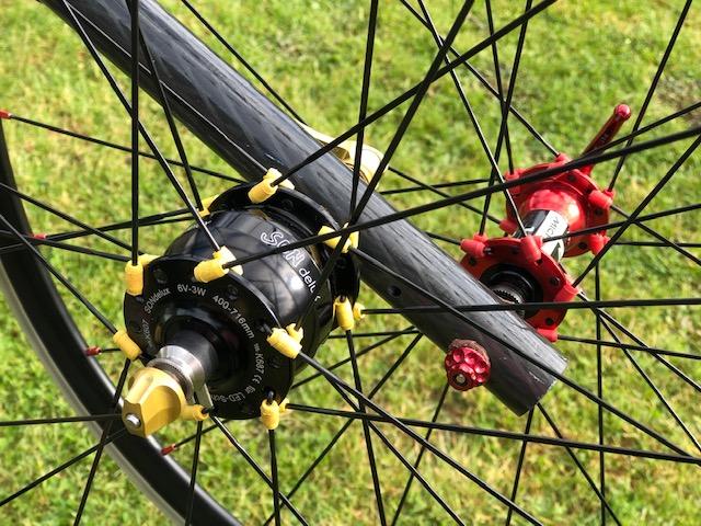 roues de vélo artisanales SOFTWHEEL