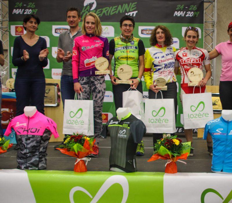 La Lozérienne VTT 2019 podium