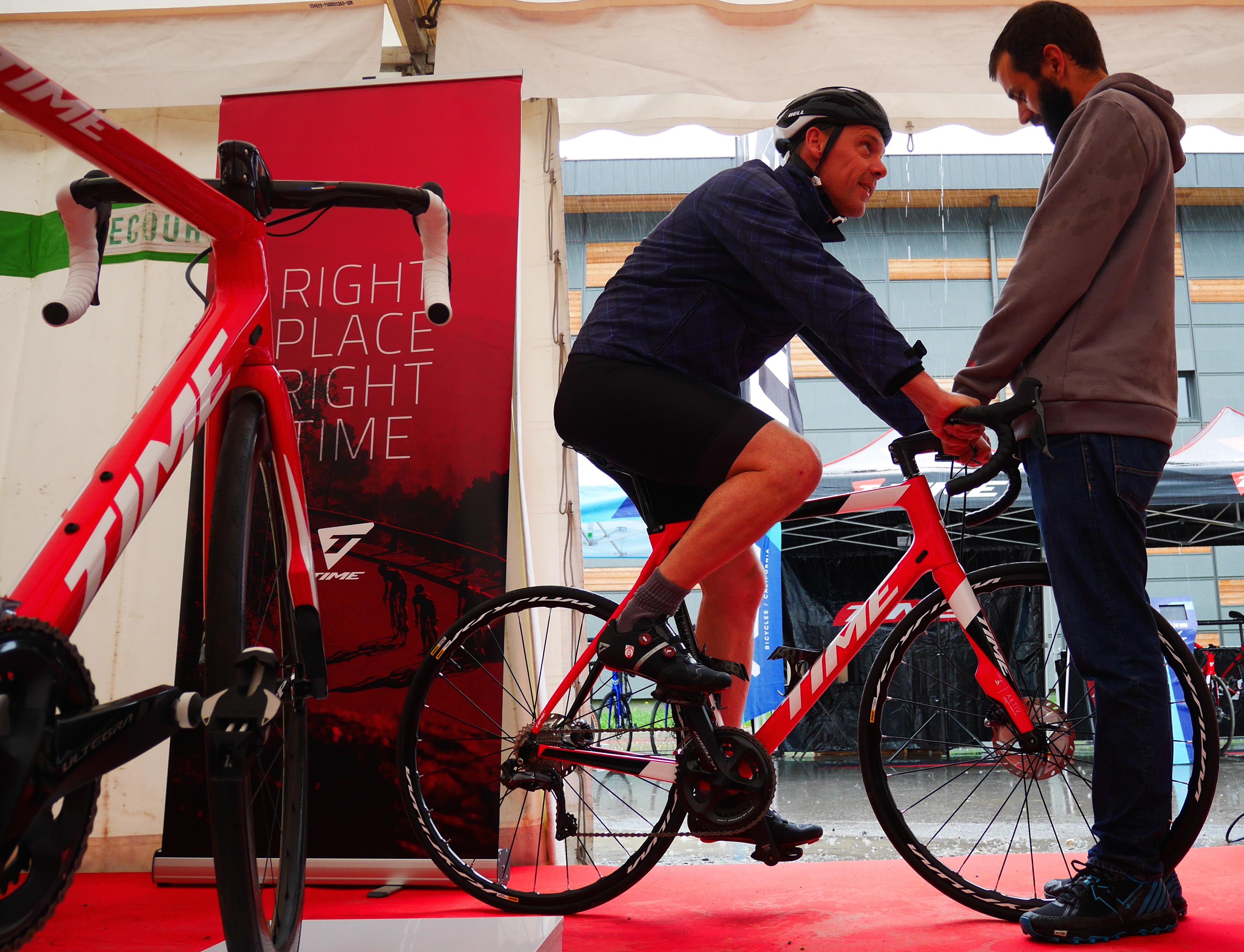 Bike Testing Time Megève Mont Blanc 2019