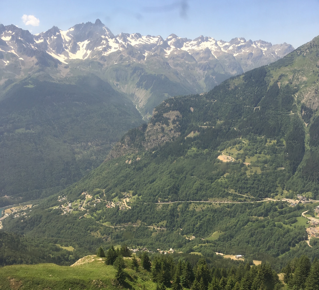 Alpe d'huez à la Vaujany 2019