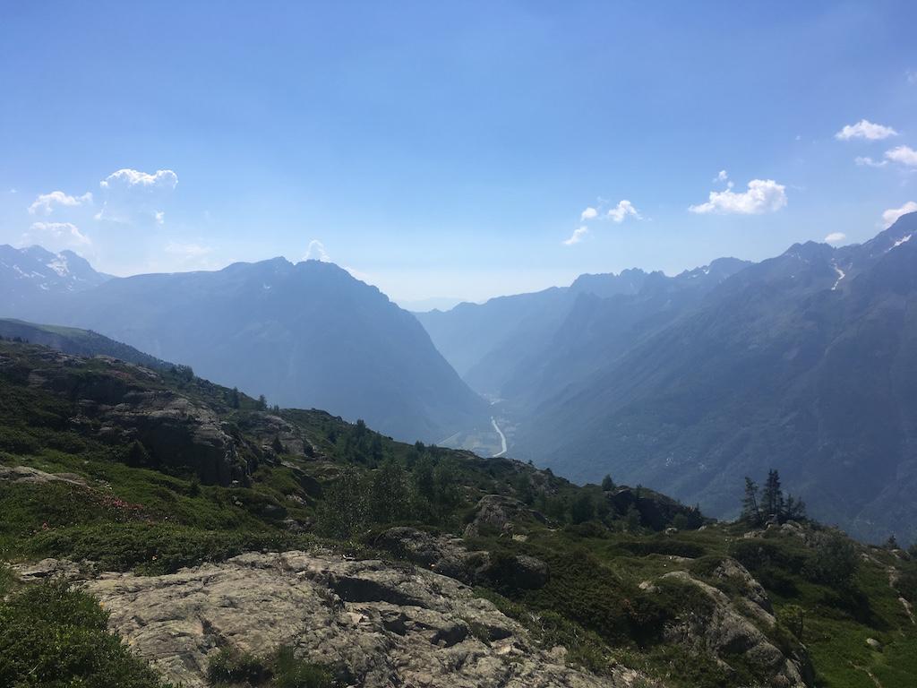 superbes paysages dans les Alpes