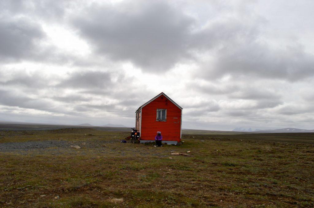 cabane typique en Islande