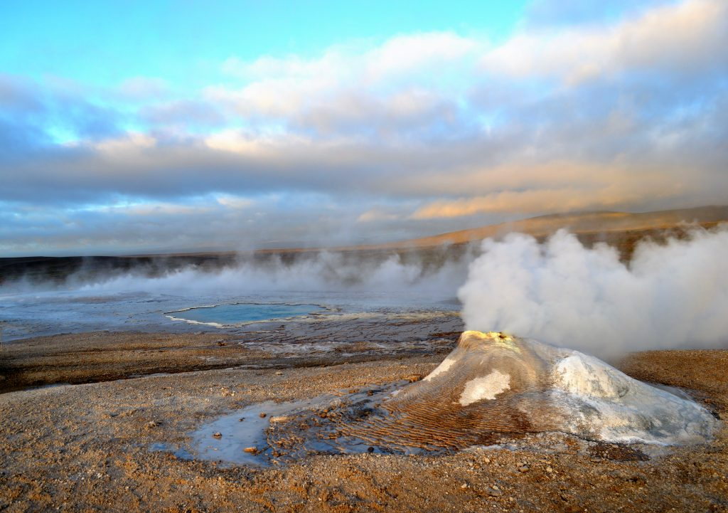 eau chaude en Islande