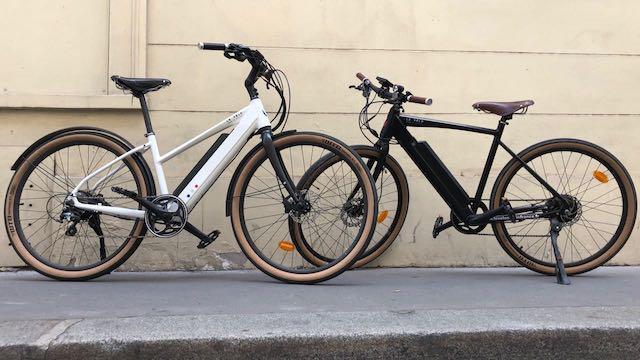 Les deux vélos Le Vélo MAD in France