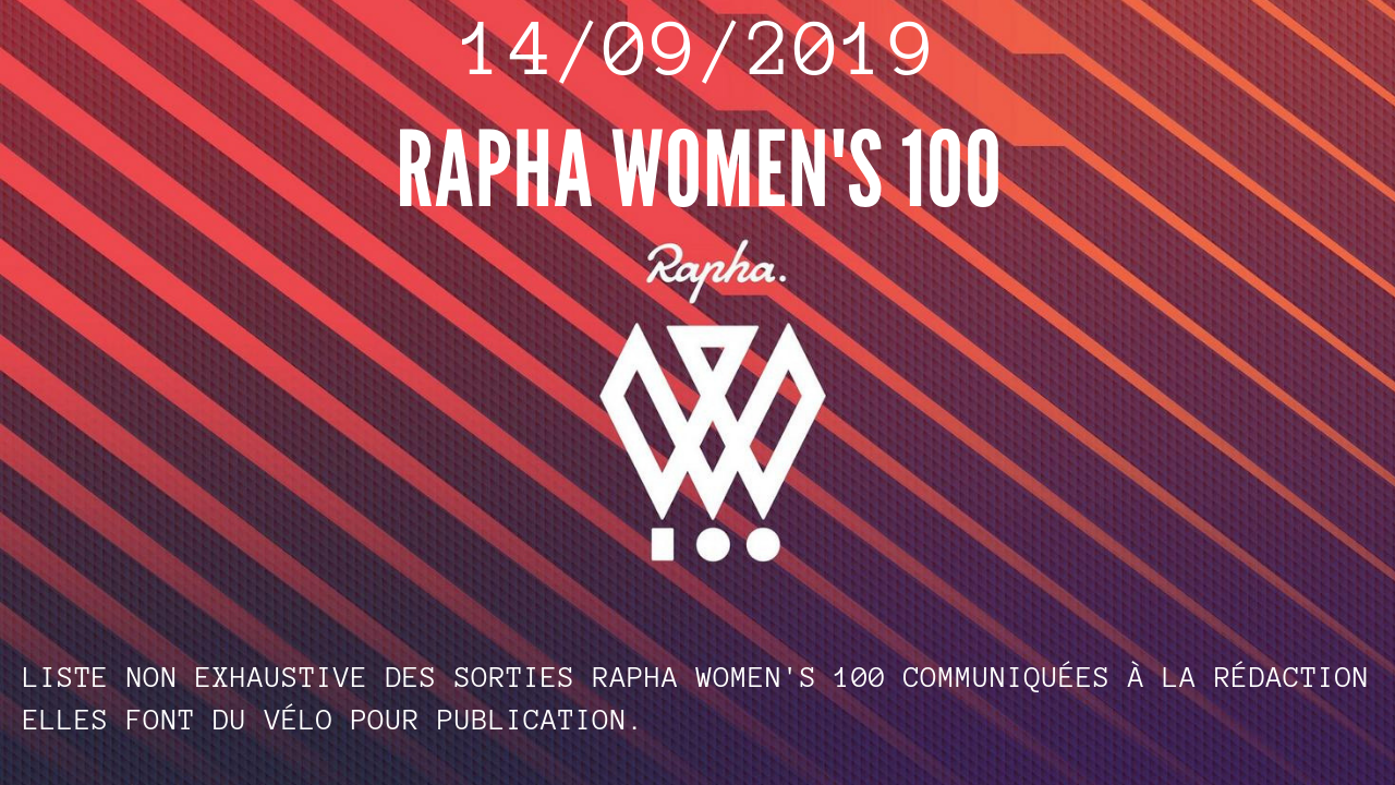 Rapha women's 100 en France