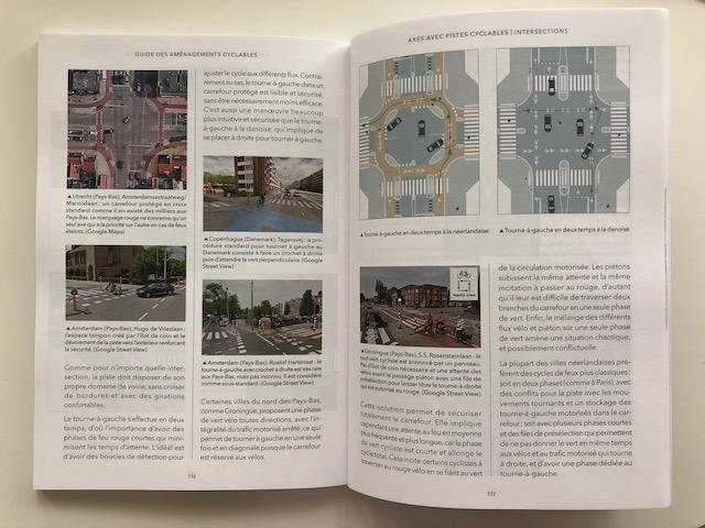 Guide des aménagements cyclables de Paris en Selle