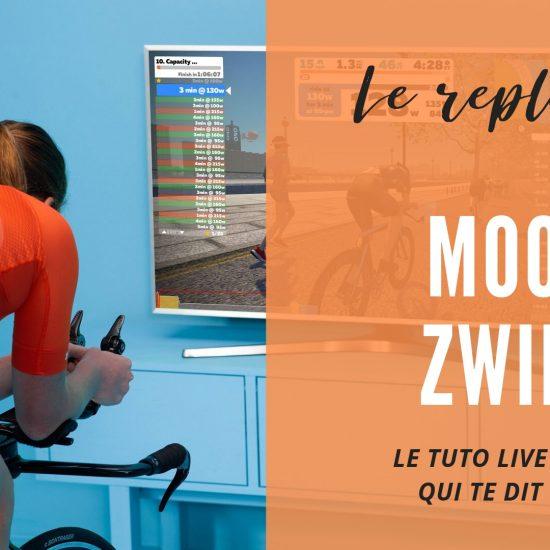 Replay Mooc sur Zwift