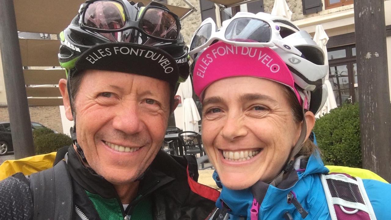 GTMC Fleur Alain en VTT en voyage en itinérance