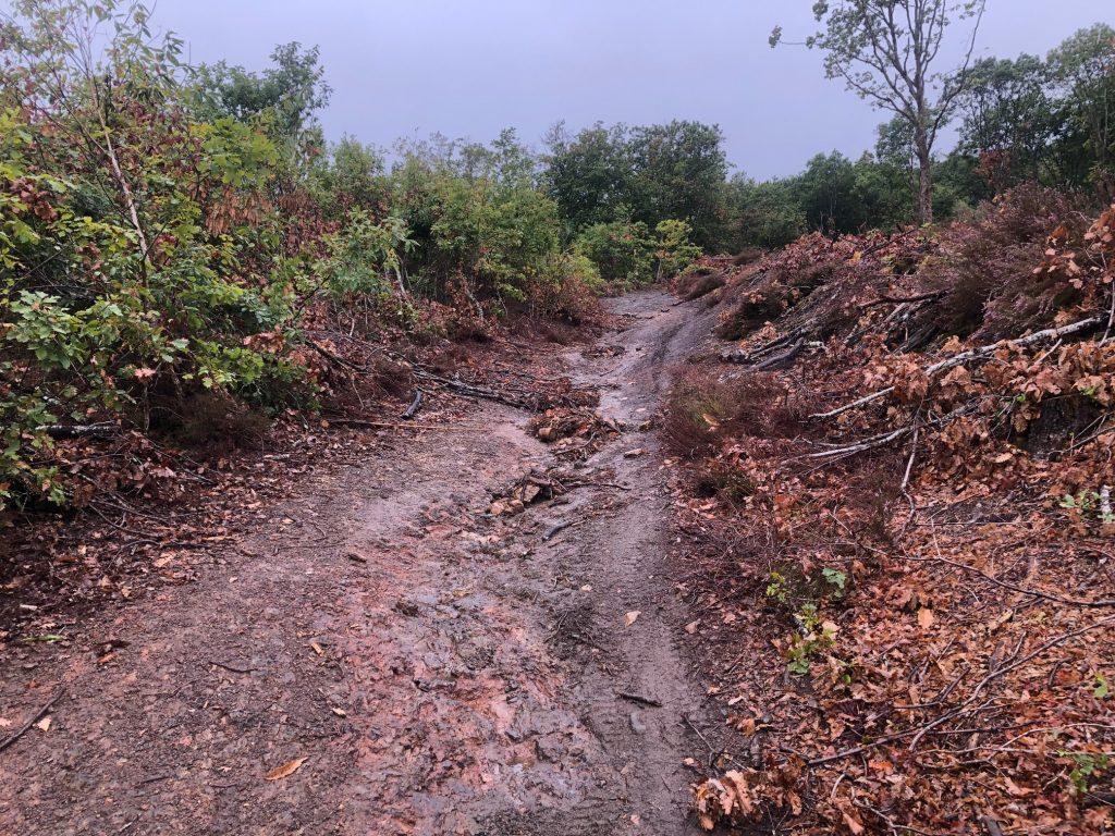 Itinérance à VTT boue GTMC
