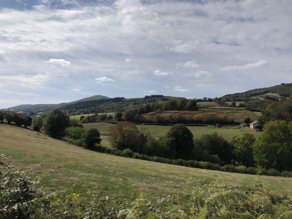 paysage grande traversée massif central