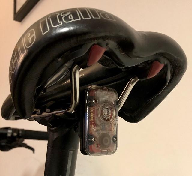 feu arrière Lupine Rotlicht pour cycliste