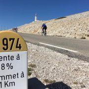 Stage vélo Ventoux triple ascensions