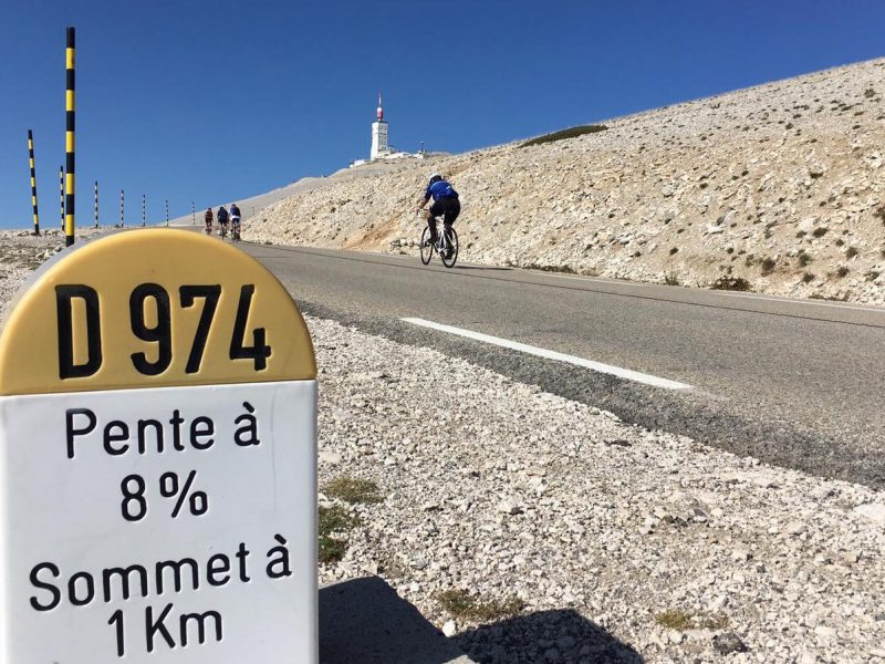 Stage vélo Ventoux triple ascensions