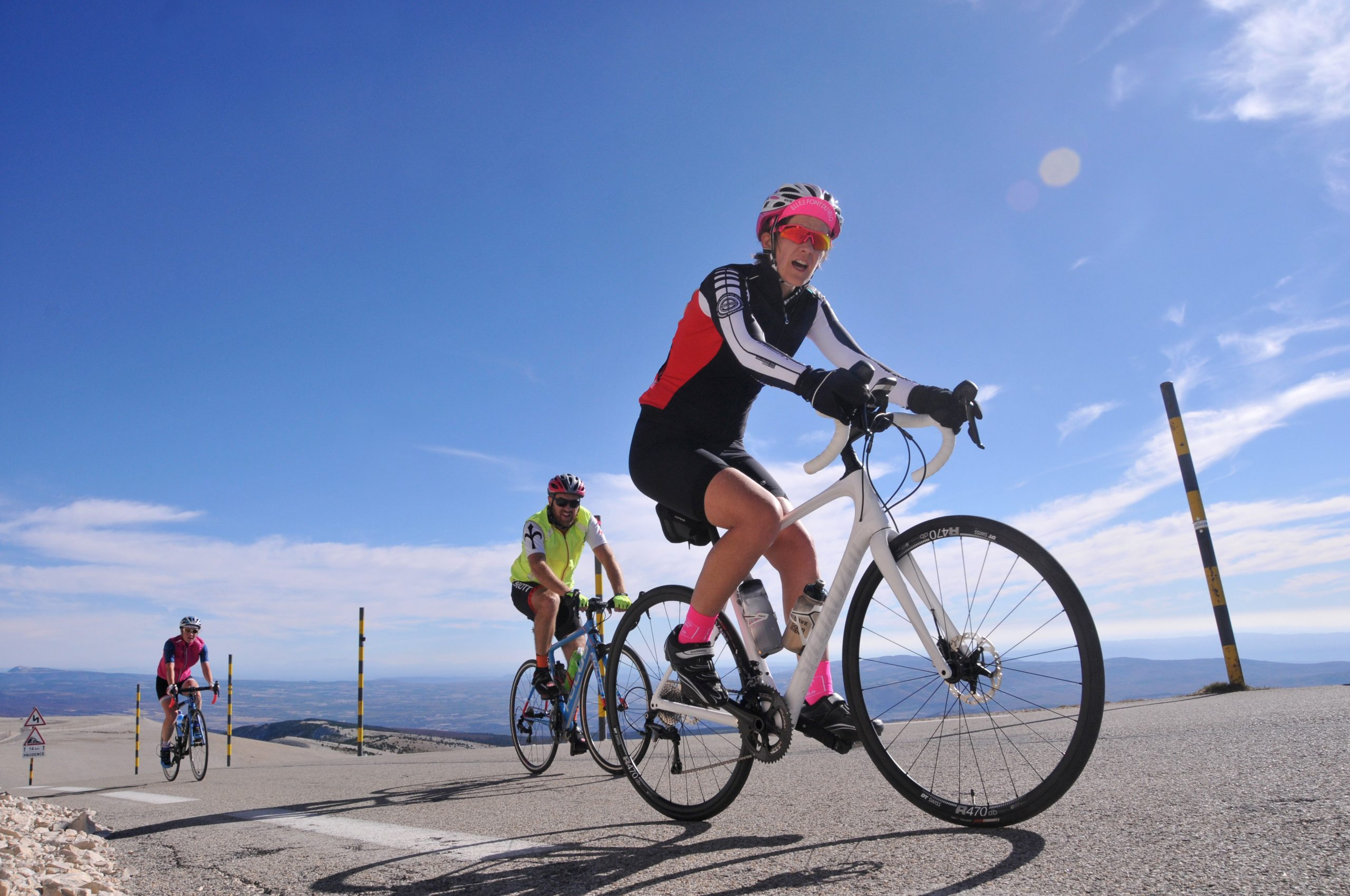 Triple ascensions du Ventoux