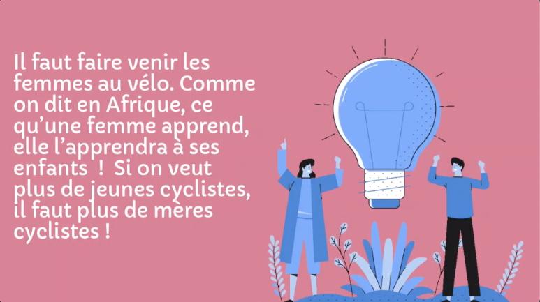 enfants femmes vélo