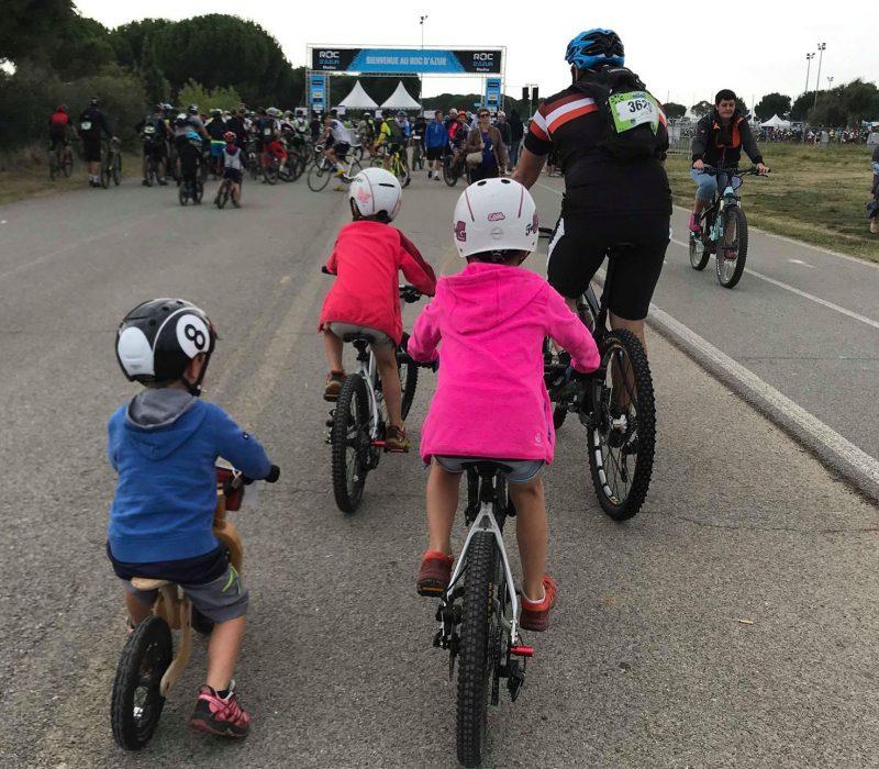 Roc d'Azur avec les enfants en famille